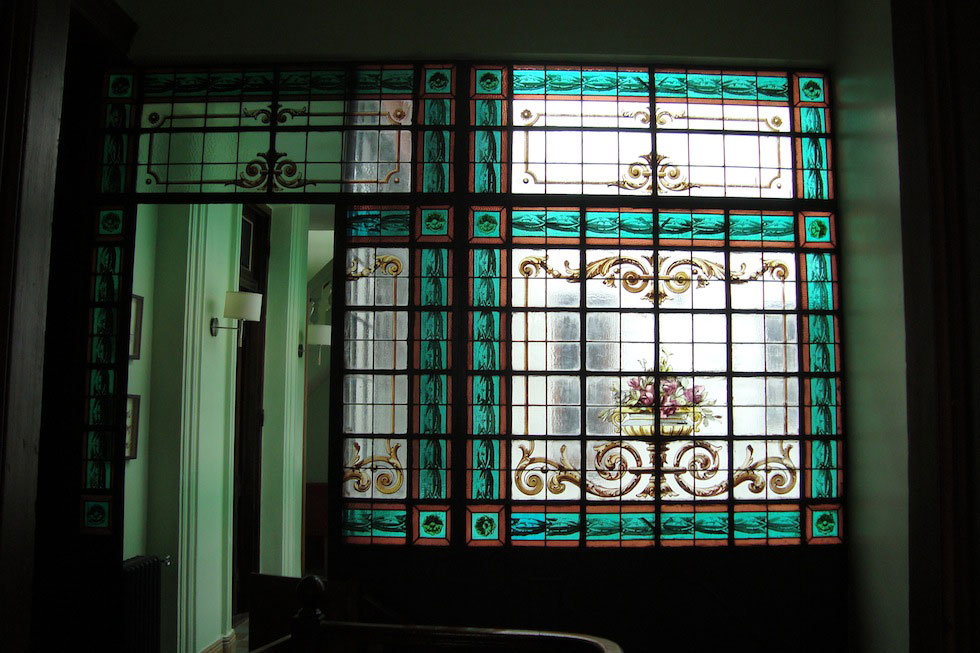 Our (rented) house. Front hall