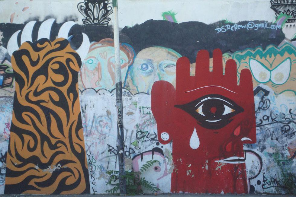 Street art in San Telmo