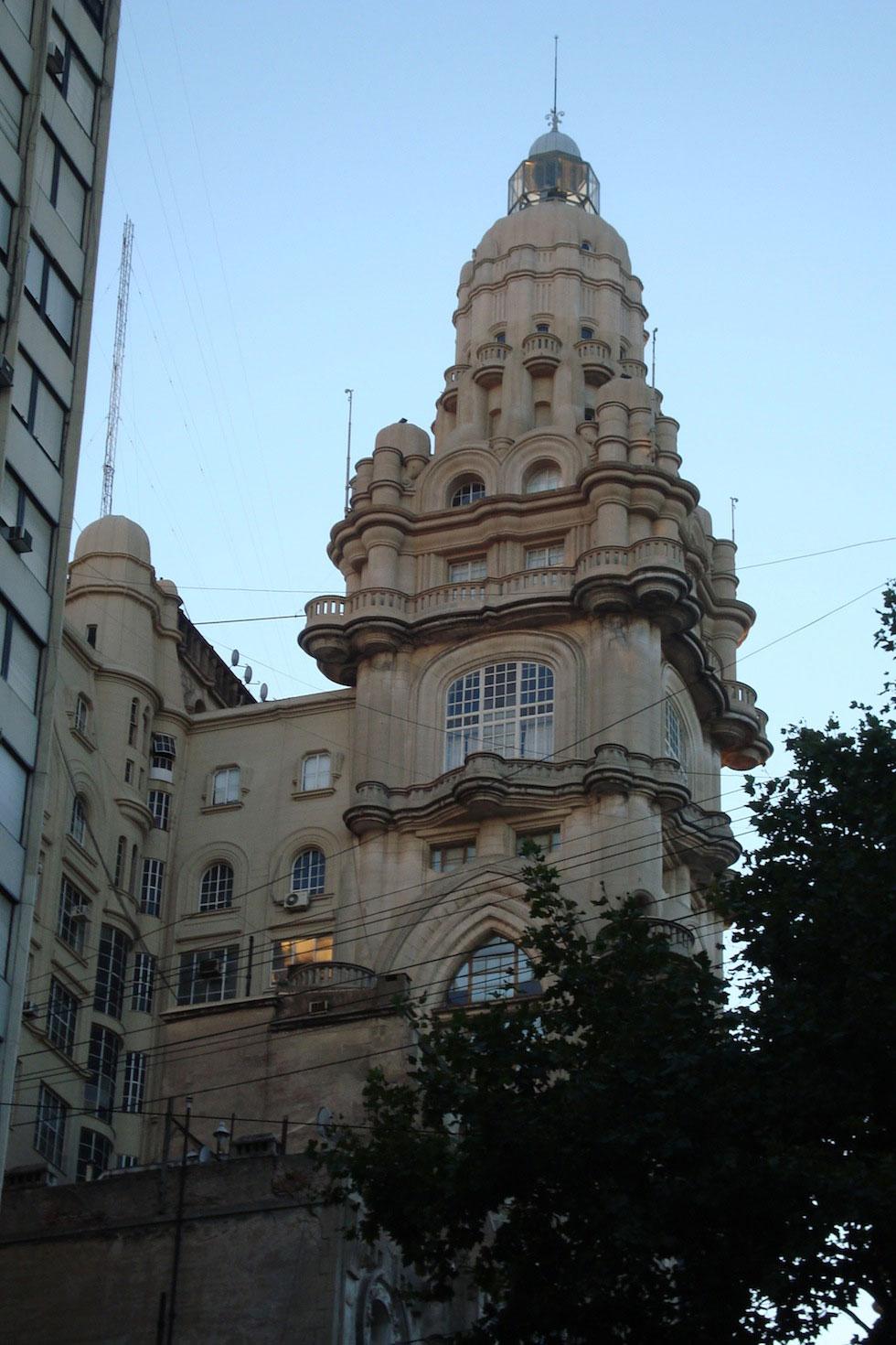 Palacio Barolo, aka the Dante building